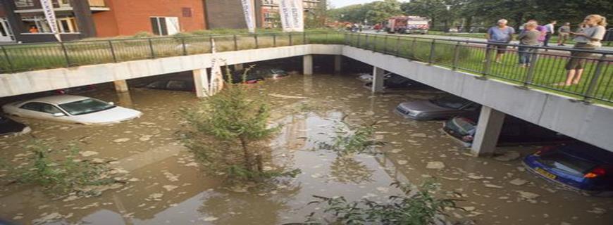 Rechtsbijstandverzekering, overstroming pareergarage Nijmegen