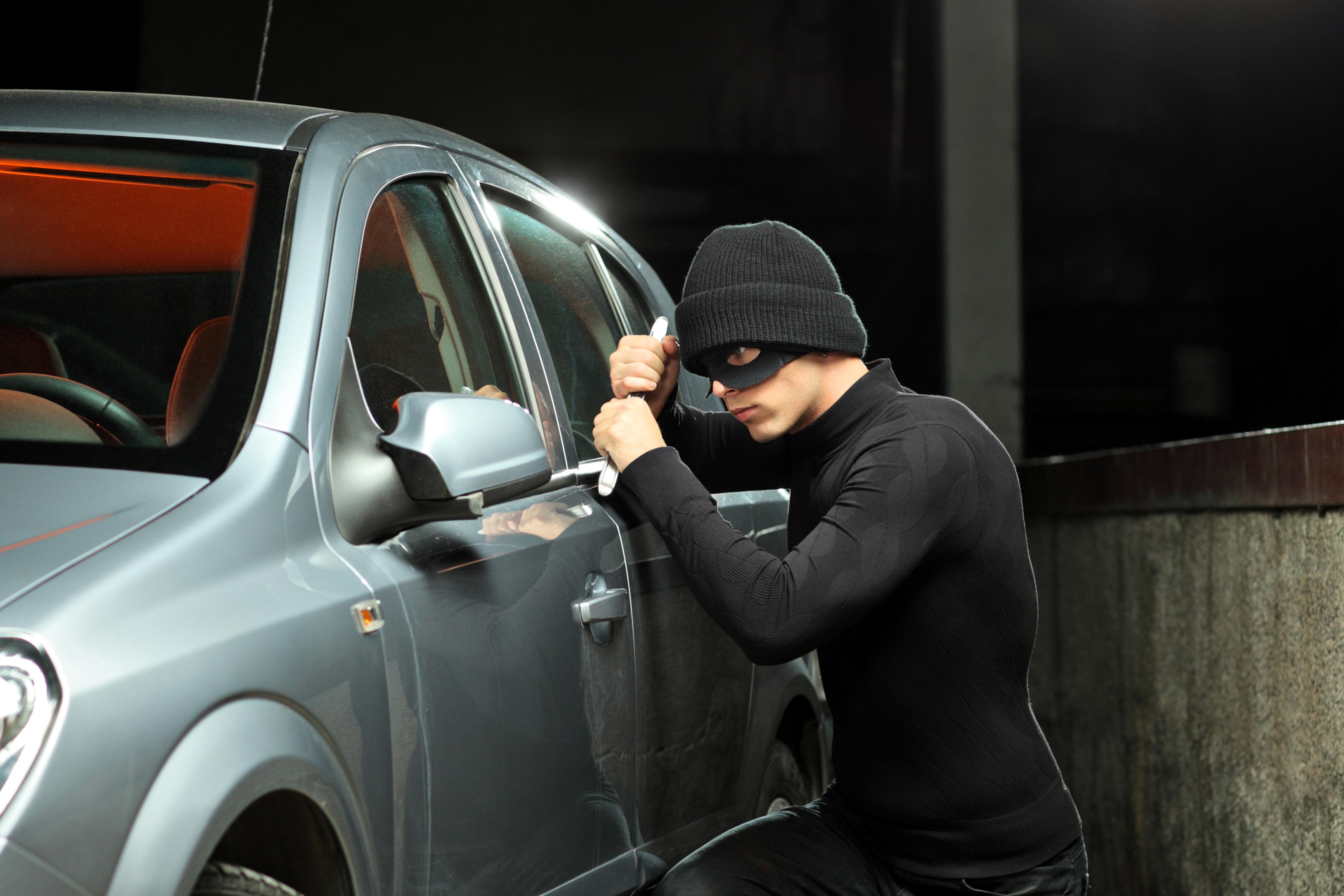 Diefstal personen auto's daalt