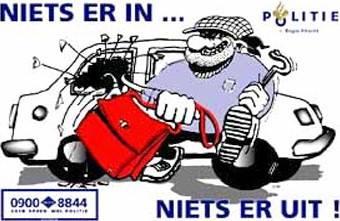 ABN AMRO vergoedt niet bij auto-inbraak zonder braakschade